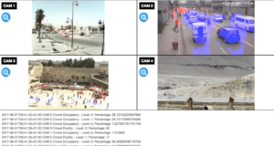 Computer vision video dashboard