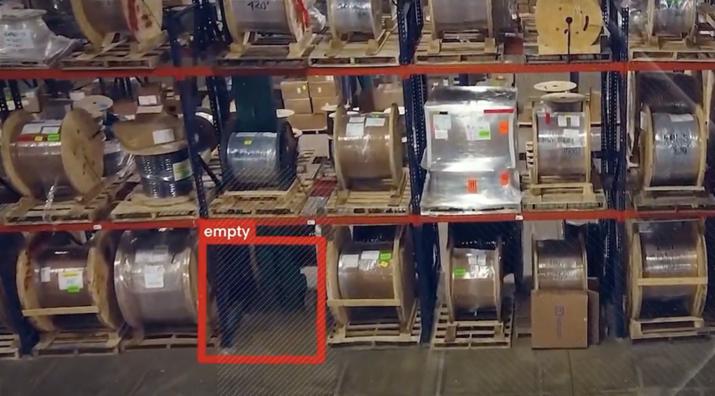 Computer Vision Solution for logistics warehousing and storage